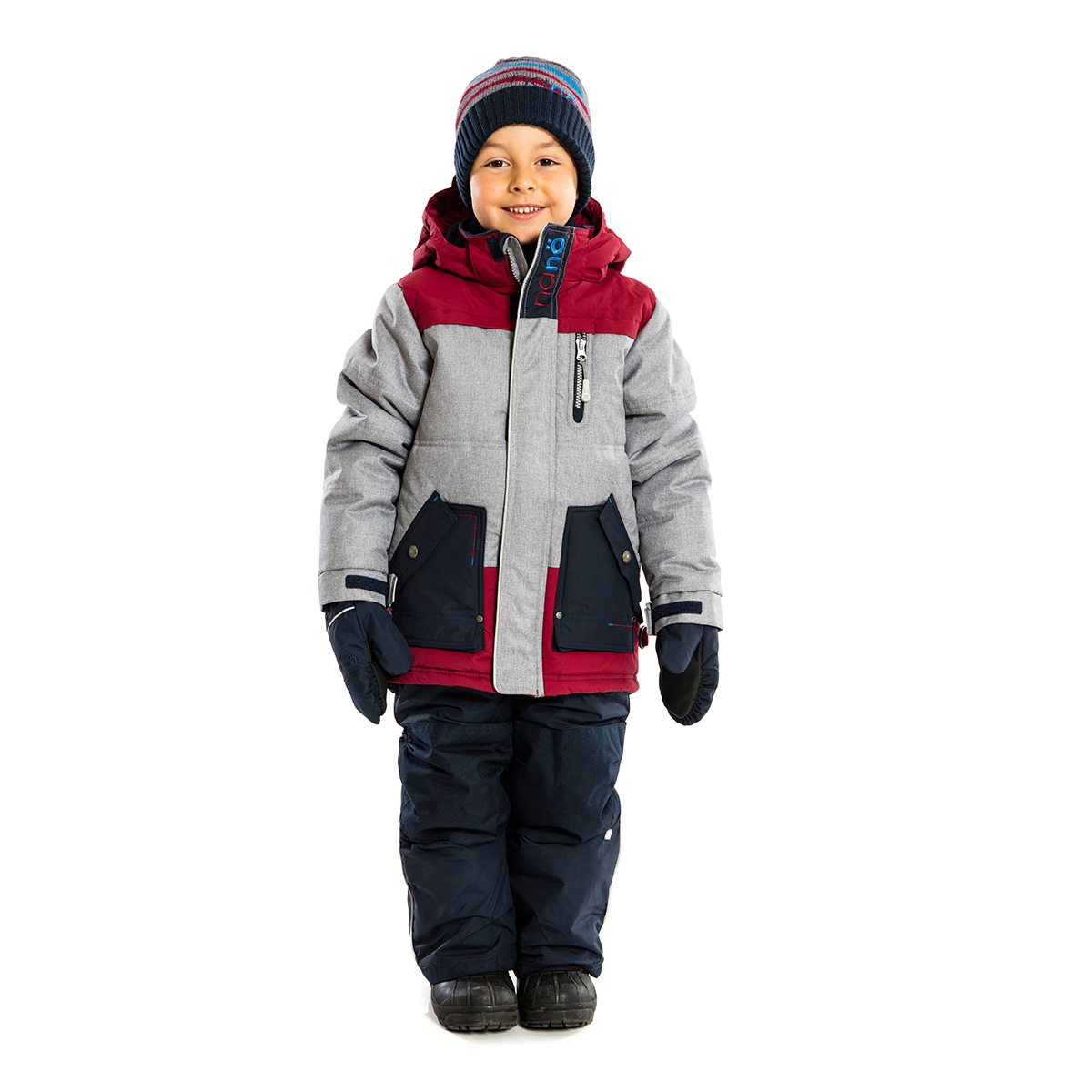 Boy's snowsuits to fit all sizes from young infants to strapping Sixteen, in a full spectrum of colors, from rip stop puffer jackets to snow boots, two-piece kid's snowsuits, snow pants, camo snow suits you name it, we stock it.